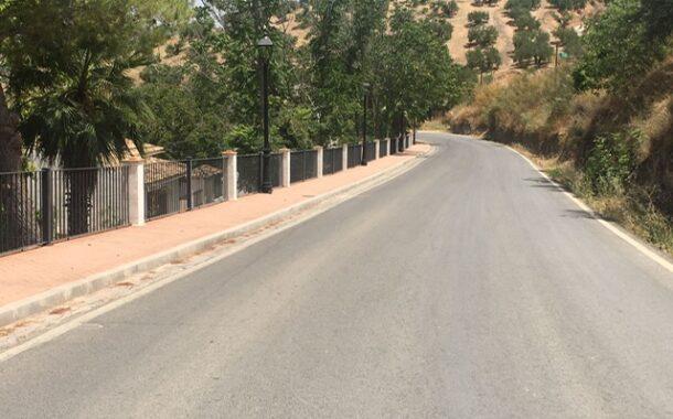 El Alcalde de Almedinilla denuncia el robo de cableado de cobre y fibra óptica de las farolas de la calle Huertas