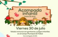 Acampada Infantil (Hasta 12 años)