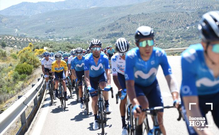 La Subbética, protagonista el próximo miércoles de la 11ª etapa de la Vuelta Ciclista a España