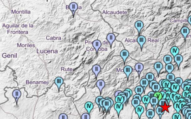 Un terremoto de magnitud 4,5, registrado en Granada, se siente en Almedinilla