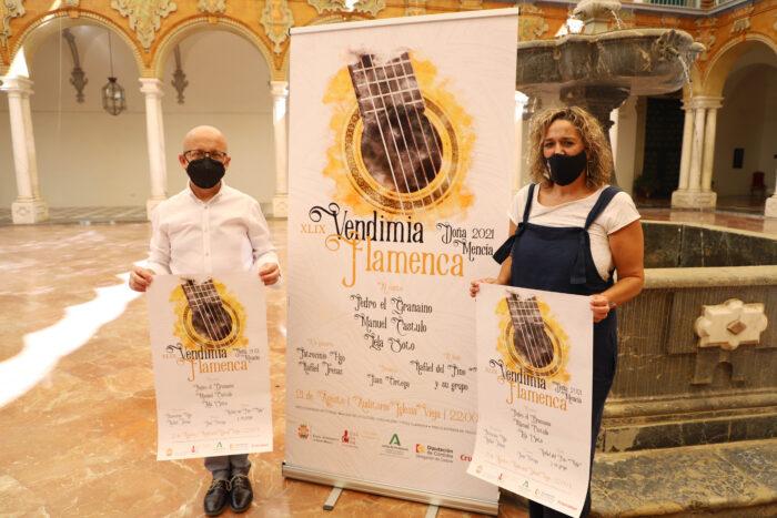 La Vendimia Flamenca de Doña Mencía contará en su 49ª edición con un plantel de grandes figuras