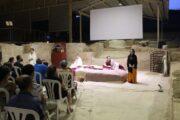 Las visitas a los yacimientos, el teatro y la charla-recreación llenan el penúltimo día del FESTUM