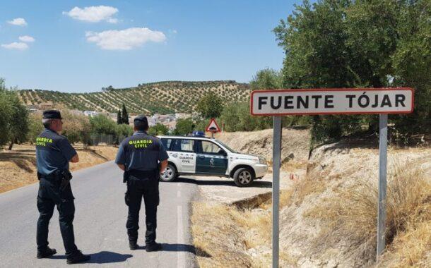 La Guardia Civil detiene en Fuente Tójar al supuesto autor de un robo en un establecimiento de Zamoranos
