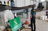 La Guardia Civil detiene a dos personas en Lucena e interviene dos embarcaciones neumáticas semirrígidas y seis motores fuera borda