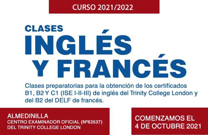 Apúntate a las clases de inglés o francés en el Centro examinador de Almedinilla