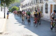 Martín Barrero López, ganador de la Meta Volante de Almedinilla, en la Challenge Ciclista La Subbética
