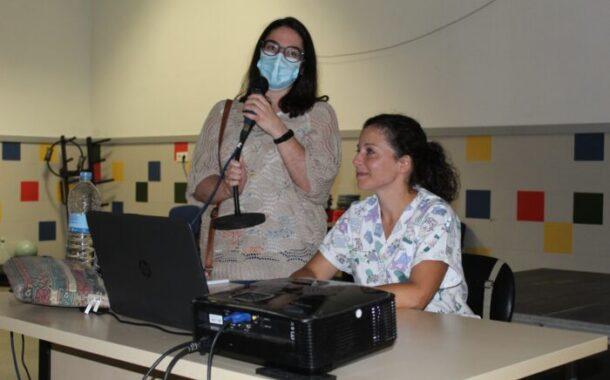 La médica María Francisca García López imparte la charla-taller