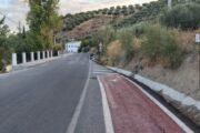 Finalizada la ejecución de dos nuevos tramos de acerado en Los Ríos