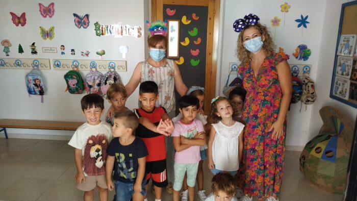 Comienza el curso escolar 2021-2022 en el CEIP Rodríguez Vega de Almedinilla