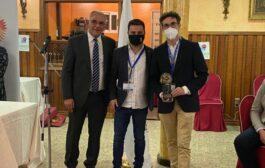 El alcalde Jaime Castillo Pareja recoge el premio