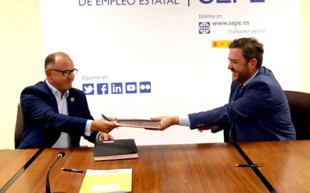 Acuerdo entre el SEPE y el Consorcio Fernando de los Ríos para impulsar desde Guadalinfo el acceso a los trámites digitales de Empleo