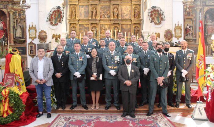 La Guardia Civil de Priego de Córdoba celebra el día de su patrona, la Virgen del Pilar