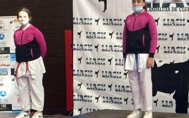 Los almedinillenses Paula y Javier Nieto Ordóñez 1º y 2º en el Campeonato de Karate celebrado en Nerja
