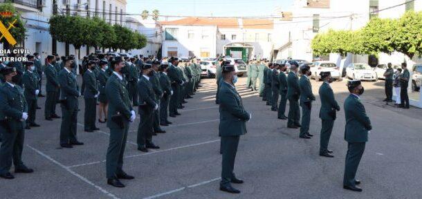 La Comandancia de Córdoba recibe a 112 Guardias Civiles que reforzarán Unidades y Puestos de la provincia