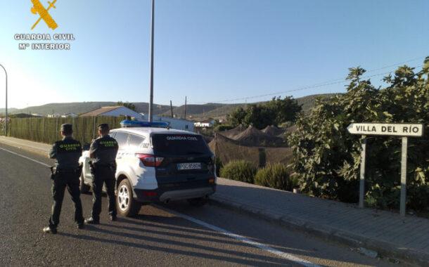 La Guardia Civil detiene a un vecino de Villa del Río como supuesto autor de un robo en un Instituto de Enseñanza Secundaria de la localidad